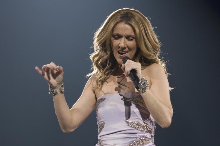 C'est en effet une Céline tout feu tout... (Photo: André Pichette, La Presse)