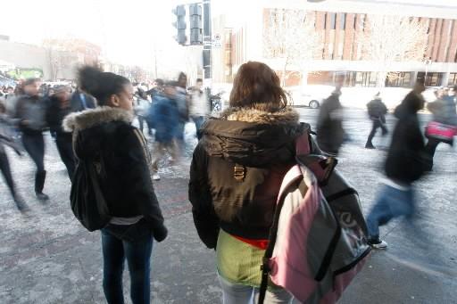 La CSDM a perdu 5500 élèves au secteur... (Photo: Martin Chamberland, La Presse)
