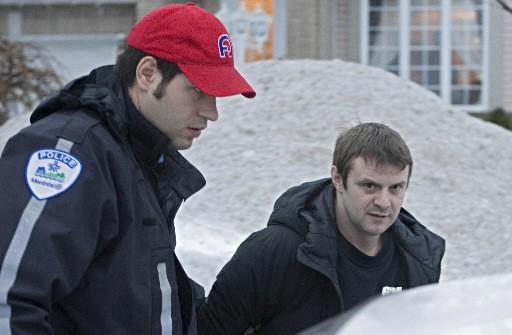L'haltérophile Jean Lavertu a été arrêté tôt hier... (Photo: Ivanoh Demers,  La Presse)
