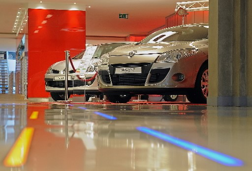 L'exportation de voitures a grandement profité à l'économie... (Photo: Bloomberg)