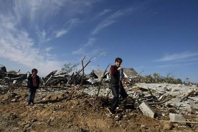 Un activiste Palestinien a été tué et trois personnes blessées... (Photo: AFP)