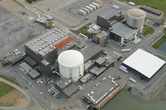 La centrale nucléaire Gentilly II... (Photo: La Presse)