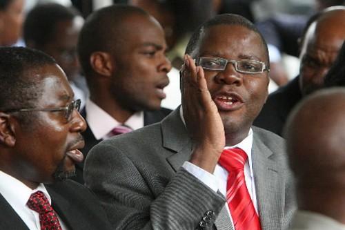 Le secrétaire général du MDC, Tendai Biti, encore... (Photo: AFP)