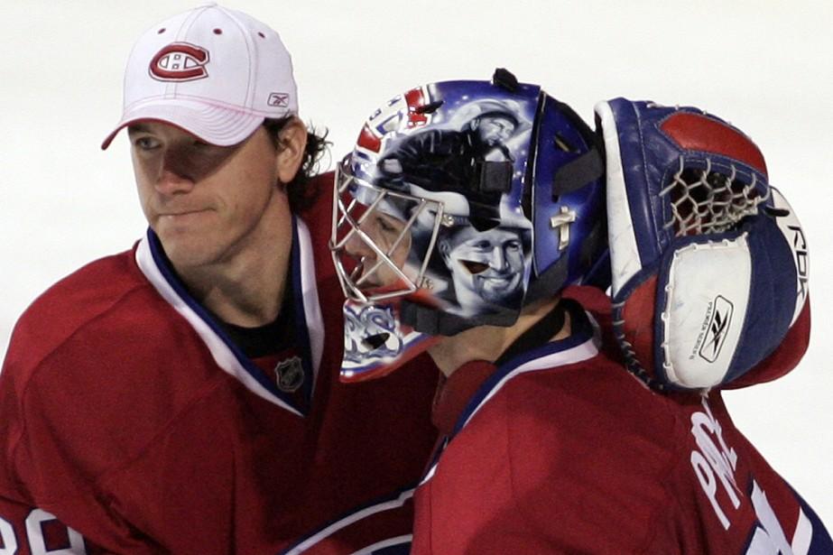 Cristobal Huet et Carey Price... (Photo: Reuters)