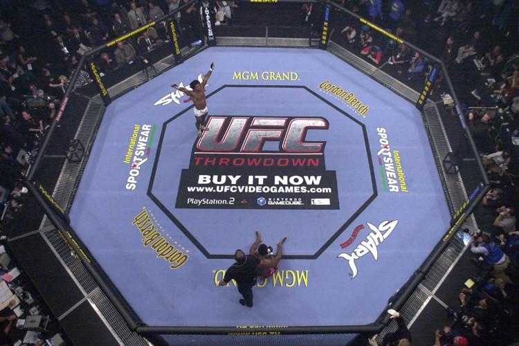La tenue du gala d'arts martiaux mixtes UFC... (Photo: AP)