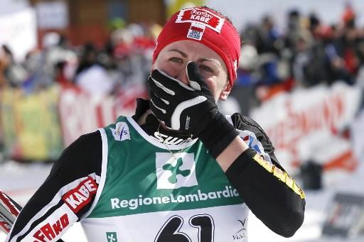 Justyna  Kowalczyk... (Photo: AP)