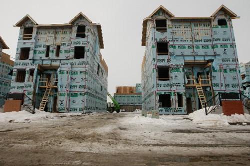 Trois cents des 1700 unitées d'habitation de Faubourg... (Photo: Martin Chamberland, La Presse)