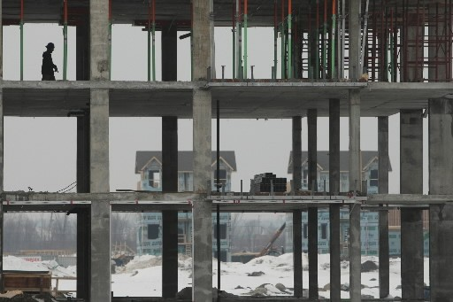 Le chantier du Faubourg Boisbriand.... (Photo: Martin Chamberland, La Presse)