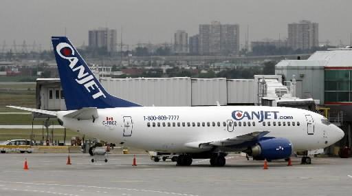 Le transporteur aérien CanJet a procédé vendredi au... (Photo: Archives Reuters)