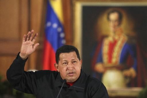 Le président vénézuélien Hugo Chavez.... (Photo: Reuters)