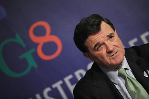 Le ministre des Finances, Jim Flaherty.... (Photo: AFP)