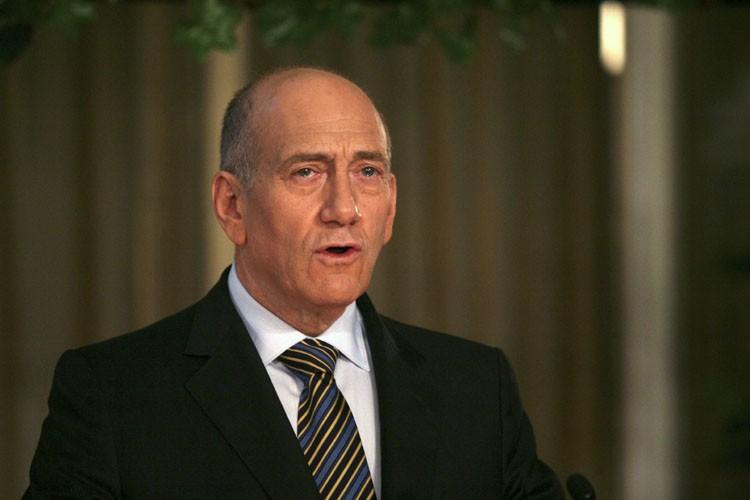 Le Premier ministre d'Israël Ehud Olmert.... (Photo: Reuters)