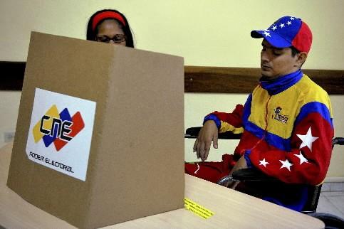 Les Venezuela sont appelés aux urnes.... (Photo: AFP)