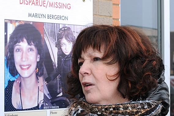 La mère de Marilyn Bergeron ne perd pas... (Le Soleil, Erick Labbé)