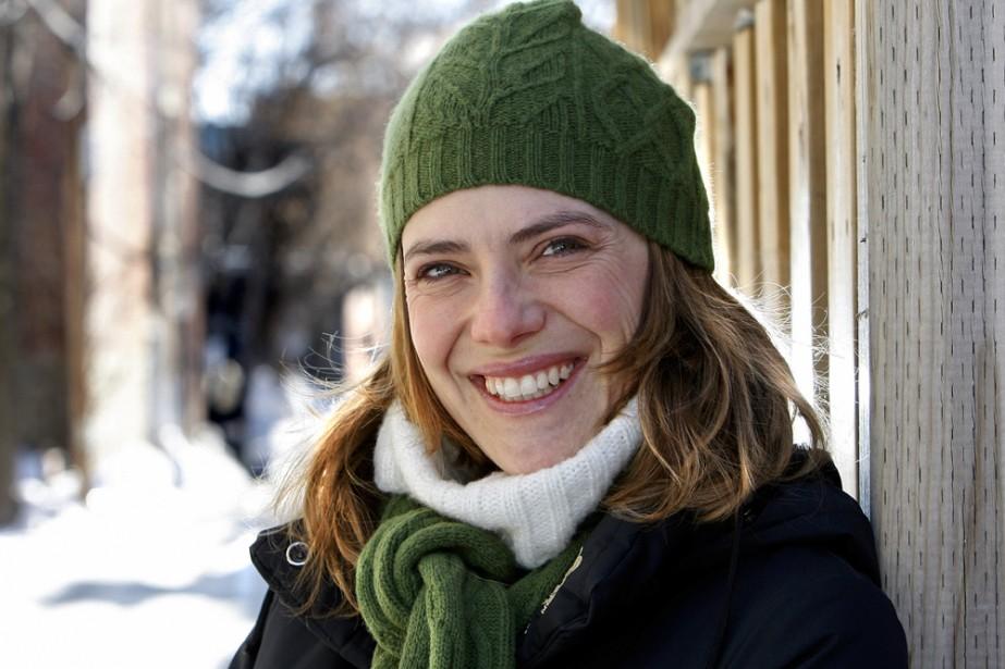 La comédienne Hélène Florent se sent proche du... (Photo: Robert Mailloux, La Presse)