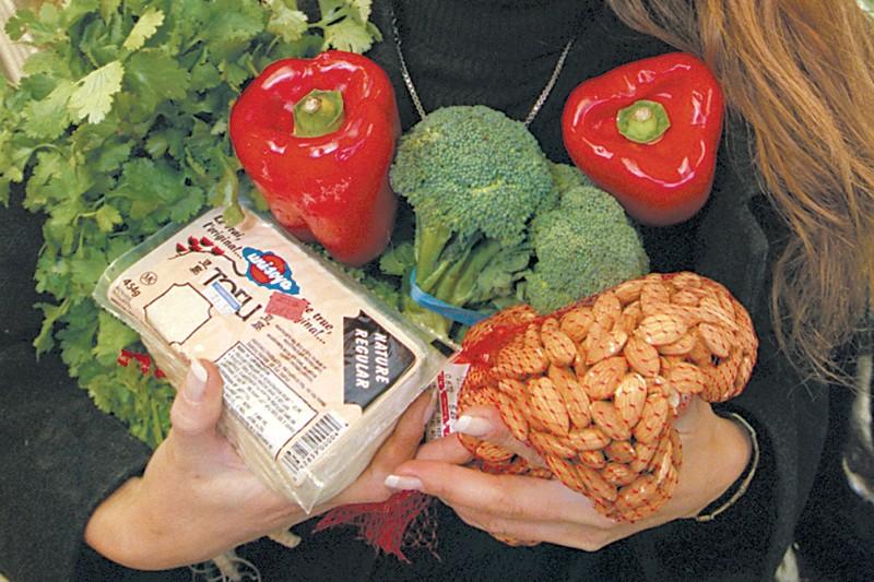 Le nombre de végétariens est stable depuis... (Photo: archives La Presse)