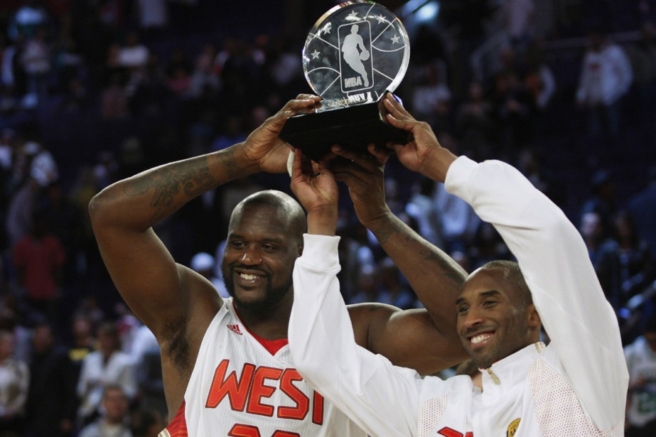 Kobe Bryant et Shaquille O'Neal... (Photo: Reuters)