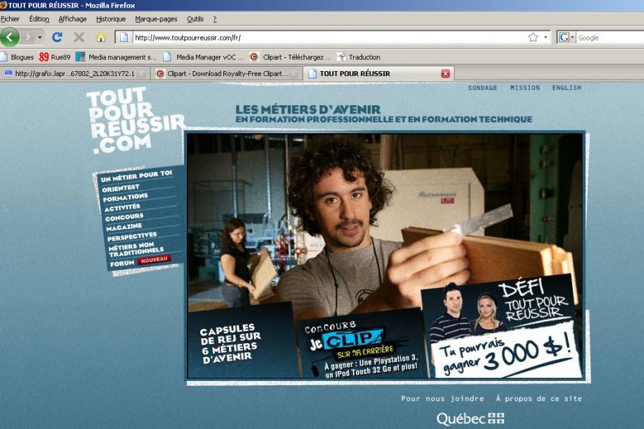 Le site ToutPourReussir.com présente 160 métiers....