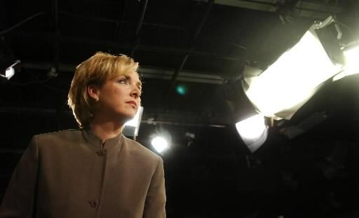 Sophie Thibault, lectrice de nouvelles chez TVA... (Photo: Archives La Presse)