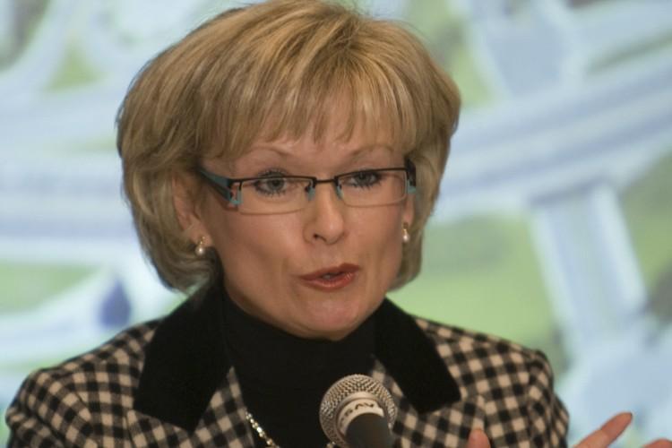 La ministre des Transports du Québec, Julie Boulet... (Photo: David Boily, La Presse)