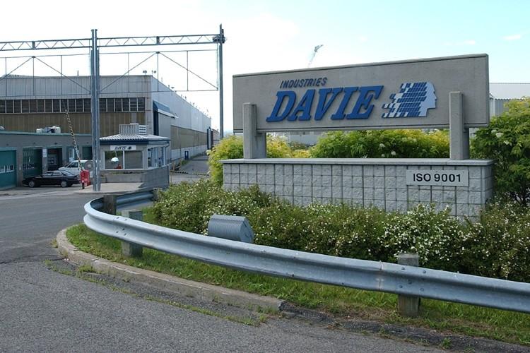Chantiers Davie avait mis fin à ses opérations... (Photo: Jean-Marie Villeneuve, Le Soleil)