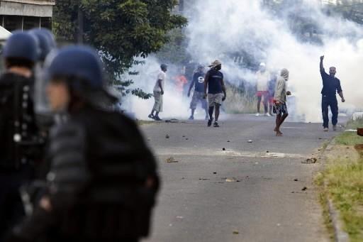 Les départements d'outre-mer français vivent actuellement des... (Photo: AFP)