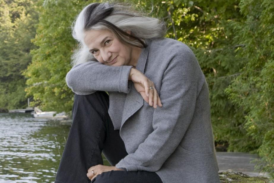 Marie Laberge... (Photo: Armand Trottier, La Presse)