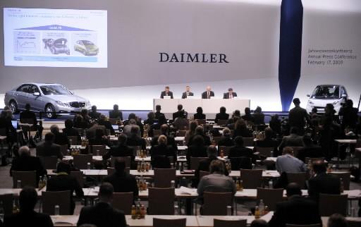 Le constructeur automobile allemand... (Photo: Agence France-Presse)