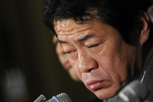 Shoichi  Nakagawa, ex-ministre de Finances du Japon... (AFP)
