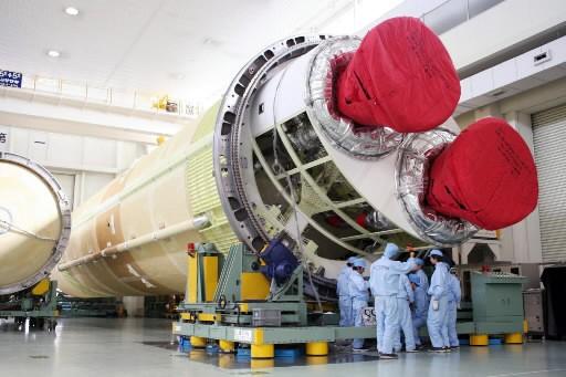 VoicilaH-2B, la nouvelle fusée japonaise dont le premier... (Photo: AFP)