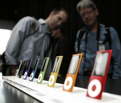 L'iPod d'Apple, fabriqué en Chine mais «conçu en...