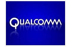 Le logo de Qualcomm...