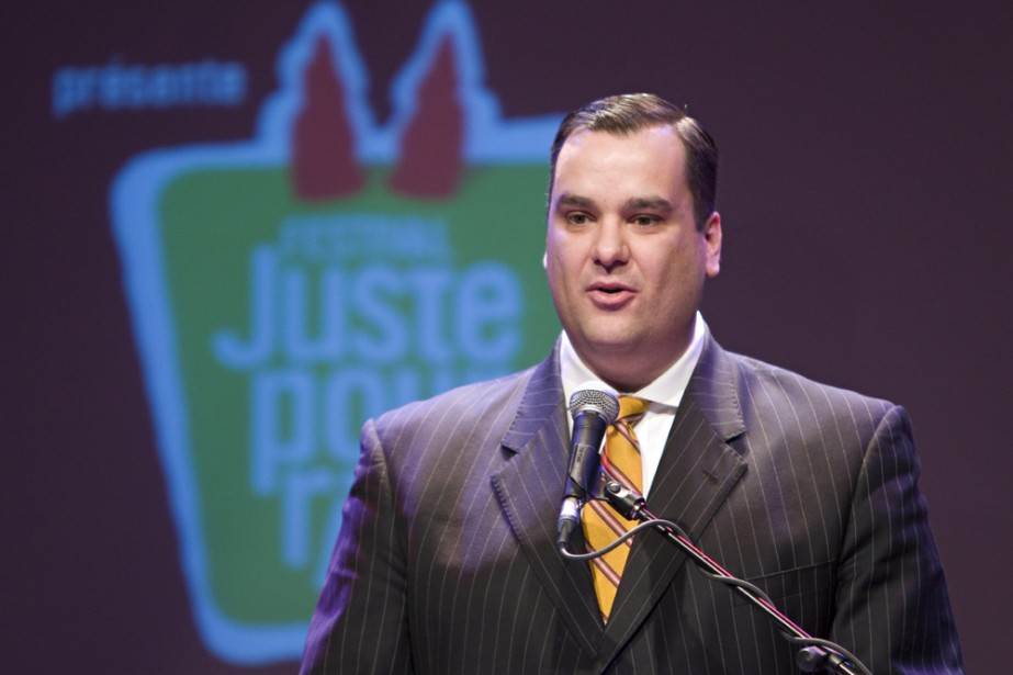 James Moore, ministre du Patrimoine.... (Photo: David Boily, La Presse)