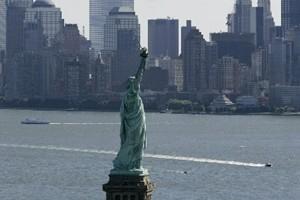 La statue de la Liberté.... (Photo: AFP)