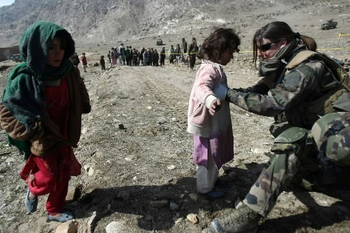Le nombre de civils tués dans la foulée du conflit armée en... (Photo: AFP)