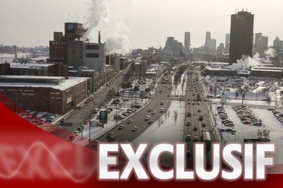 Environ 75 000 véhicules, dont de 5000 à... (Photo archives, La Presse)