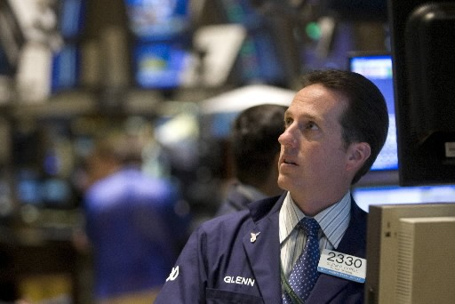 Les Bourses mondiales ont subi une autre dégelée, hier,... (Photo: Bloomberg)