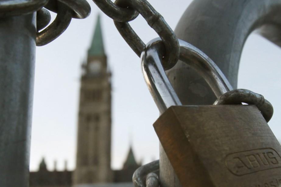 La plupart des rencontres se dérouleront au parlement,... (Photo La Presse Canadienne)
