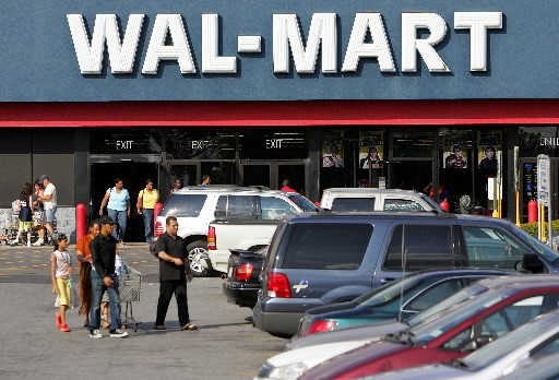 Le géant de la distribution Wal-Mart a publié... (Photo: Agence France-Presse)