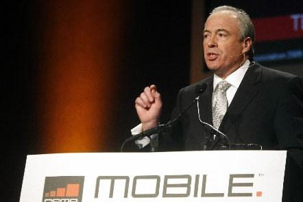 Rob Conway, directeur de l'association des opérateurs GSM... (Photo: Reuters)