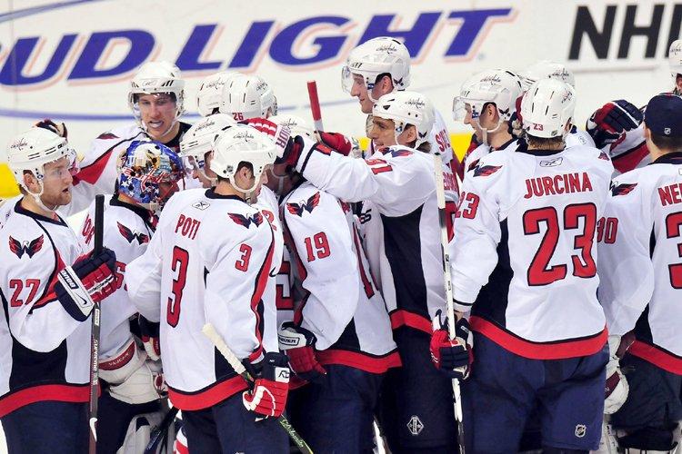 Les Capitals ont remporté six de leurs neuf... (Photo: AP)