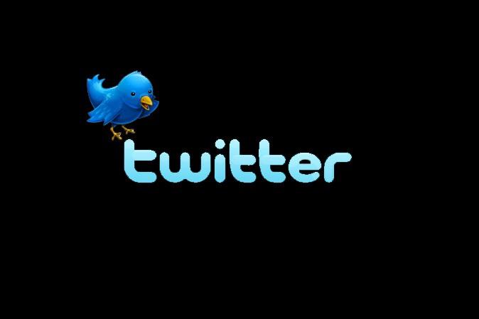 Le logo de Twitter...