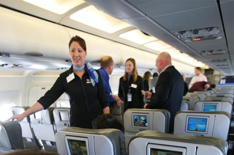 La compagnie aérienne américaine à bas prix JetBlue remboursera... (AP)