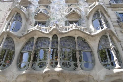 La Casa Batllo, bijou architectural d'Antoni Gaudi.... (Photo: Martin Tremblay, La Presse)