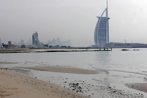 Une partie d'une plage d'un des quartiers les... (Photo: AFP)
