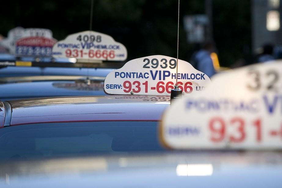 Les propriétaires de taxis montréalais craignent de... (Archives La Presse)