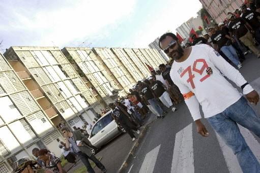 Les citoyens le la Guadaloupe protestent contre le... (Photo: AFP)