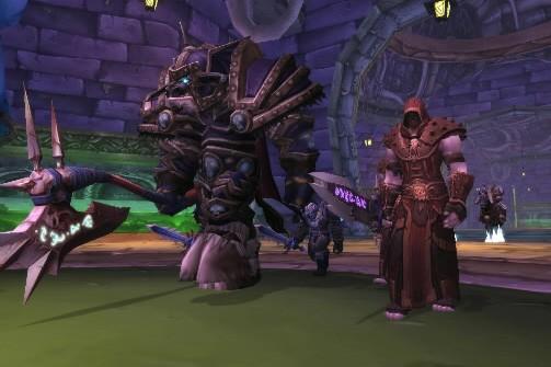 Extrait du jeu World of Warcraft...