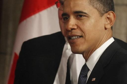 Barack Obama... (Photo: Ivanoh Demers,  La Presse)