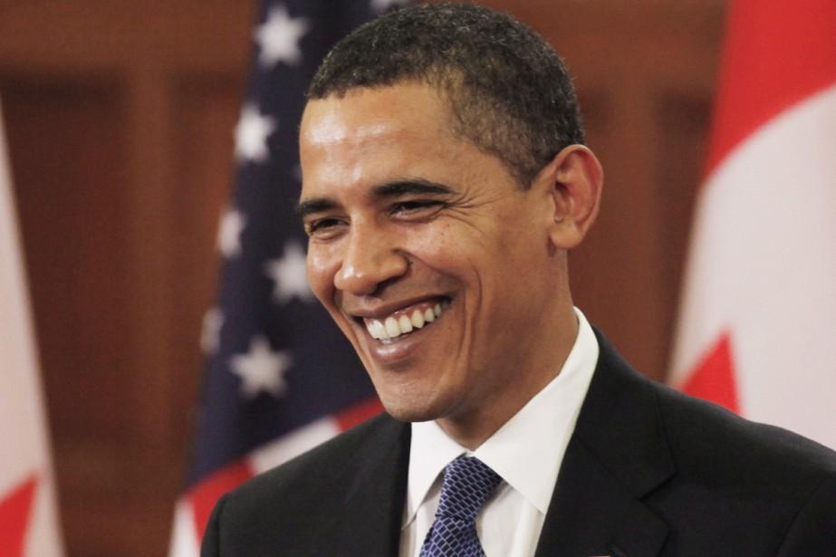 Les Américains ont osé élire un président souriant. En trois... (Photo AP)